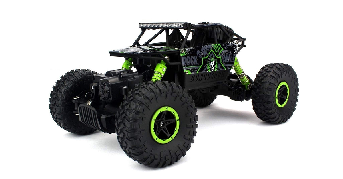 Flyers Bay Rock Crawling Car   4Wd Rally Car   Remote Control Monster Truck