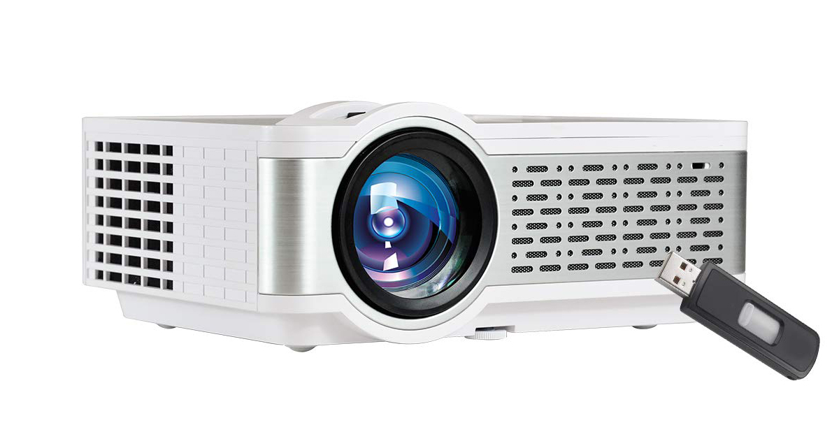 EGate i9 Pro-Max LED Projector | Full HD 1080p Modulated at 720p Base
